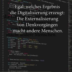 Digitalisierung, Soziologie